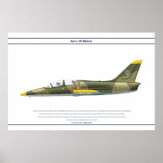 Aero L-39 Ukraine Poster