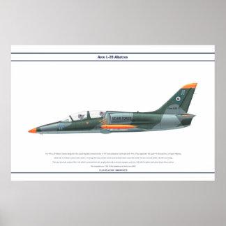 Aero- L-39 Uzbekistán Póster