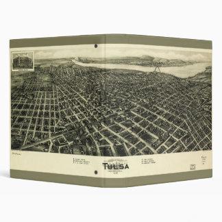 """Aero- mapa de la visión de Tulsa Oklahoma (1918) Carpeta 1"""""""