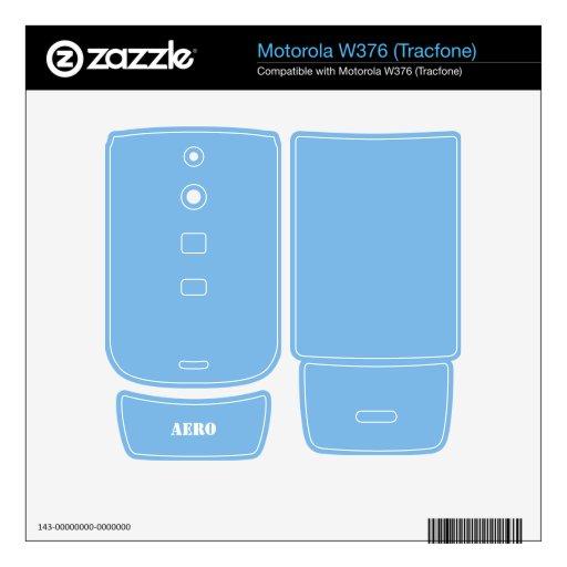 Aero- Skins Para Motorola W376