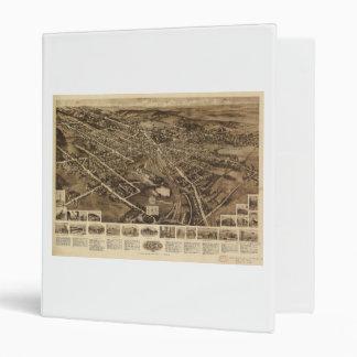 Aero view Map of Goshen New York (1922) Binder