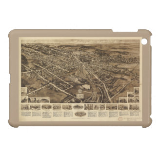 Aero view Map of Goshen New York (1922) Cover For The iPad Mini