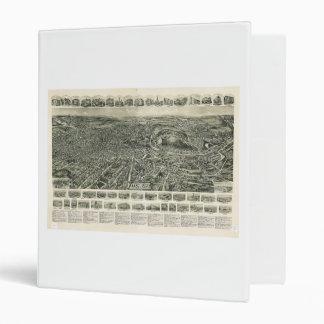 """Aero- vista de Fitchburg Massachusetts (1915) Carpeta 1"""""""