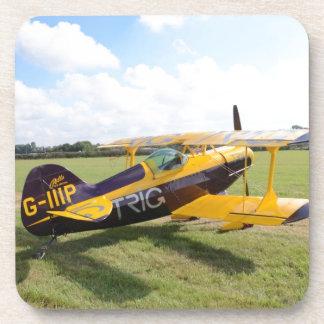 Aerobatic Bi-Plane On The Field Coaster