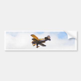 Aerobatic Biplane In Flight Bumper Sticker