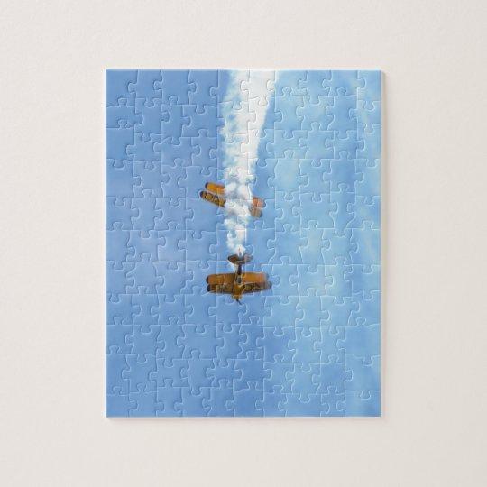 Aerobatic Biplanes Jigsaw Puzzle