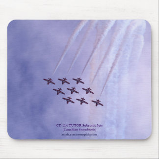 Aerobatic Subsonic Turbo-Jets Airshow High Loop Mouse Pad