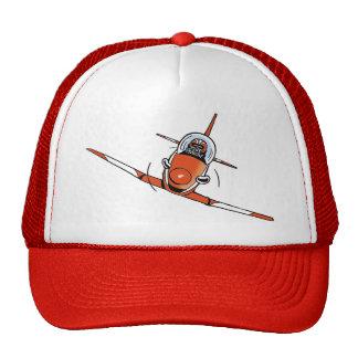Aerobatics Cartoon Aviation Cap Trucker Hat