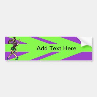 Aerobic Dance Workout Car Bumper Sticker