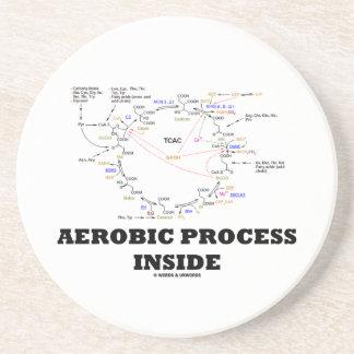 Aerobic Process Inside (Krebs Cycle) Drink Coaster