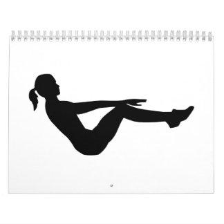 Aeróbicos Calendarios