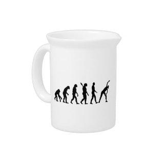 Aeróbicos de la evolución jarra