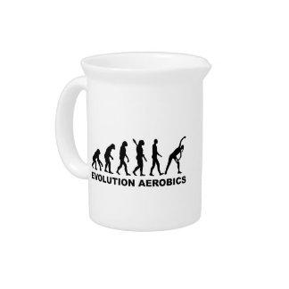 Aeróbicos de la evolución jarras de beber