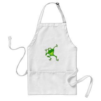 Aerobics Frog Adult Apron