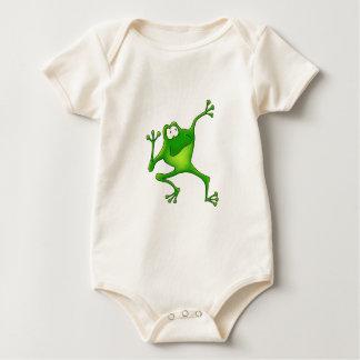Aerobics Frog Baby Bodysuit