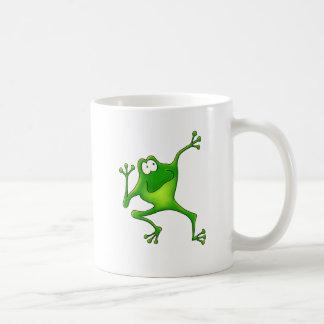 Aerobics Frog Coffee Mug