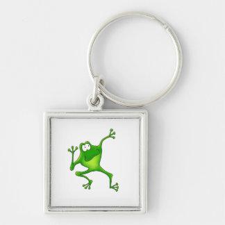 Aerobics Frog Keychain