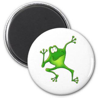 Aerobics Frog Magnet