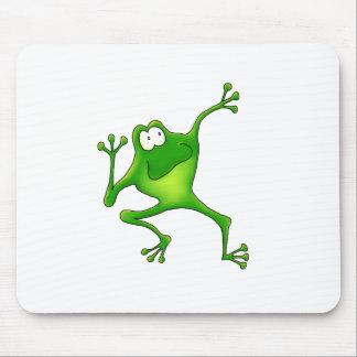 Aerobics Frog Mouse Pad