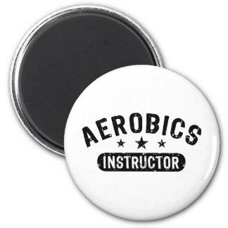 Aerobics Instructor 2 Inch Round Magnet