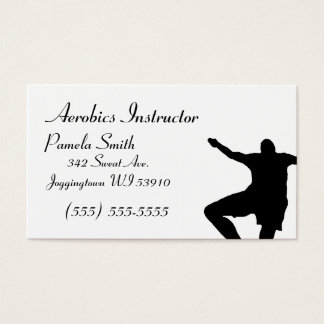 Aerobics Instructor business card