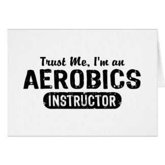 Aerobics Instructor Card