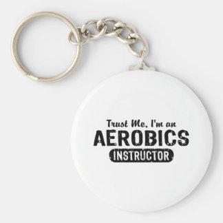 Aerobics Instructor Key Chains