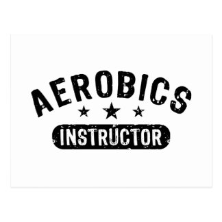Aerobics Instructor Postcard
