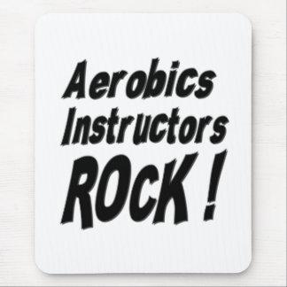 Aerobics Instructors Rock! Mousepad