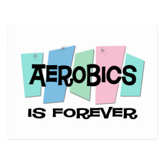 Aerobics Is Forever Postcard