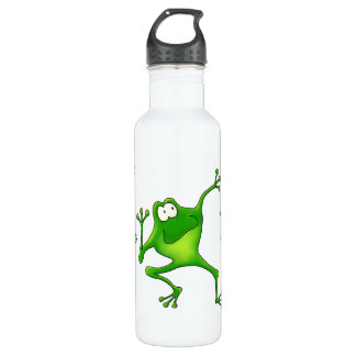 Aerobics Jumping Frogs Stainless Steel Water Bottle