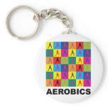 Aerobics Keychain
