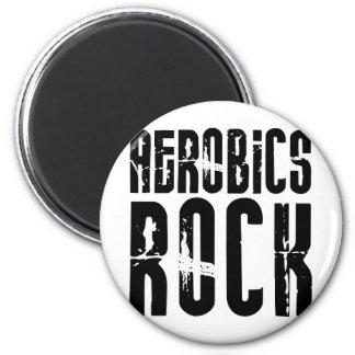 Aerobics Rock Magnet