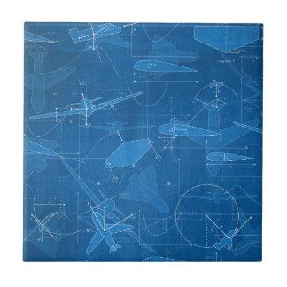 Aerodinámica Azulejo Cuadrado Pequeño