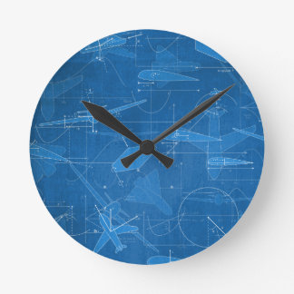 Aerodinámica Reloj Redondo Mediano