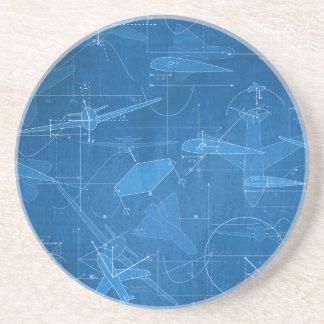 Aerodynamics Drink Coaster