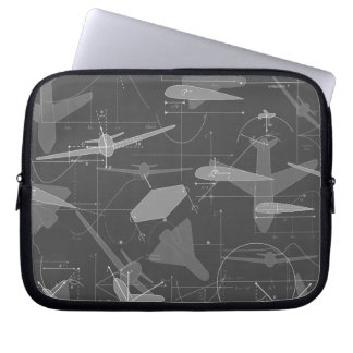 Aerodynamics Laptop Computer Sleeves