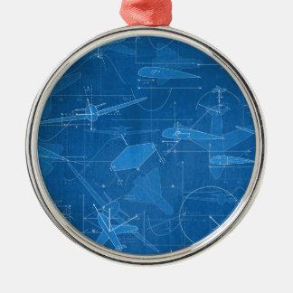 Aerodynamics Metal Ornament