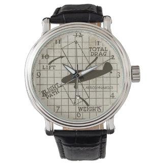 Aerodynamics Wristwatch
