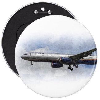 Aeroflot Airbus A330 Art Button
