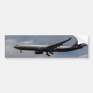 Aeroflot Airbus A330 Bumper Sticker