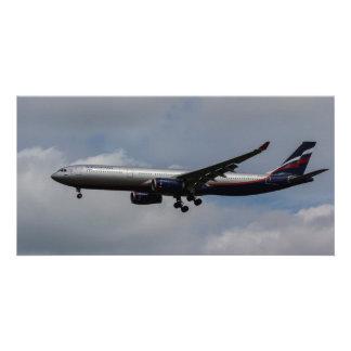 Aeroflot Airbus A330 Photo Card