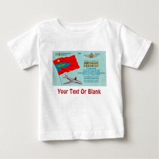 Aeroflot Passenger Ticket Baby T-Shirt