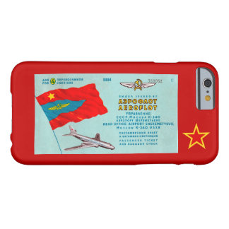 Aeroflot Passenger Ticket Barely There iPhone 6 Case