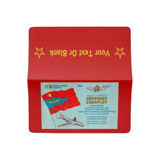 Aeroflot Passenger Ticket Checkbook Cover
