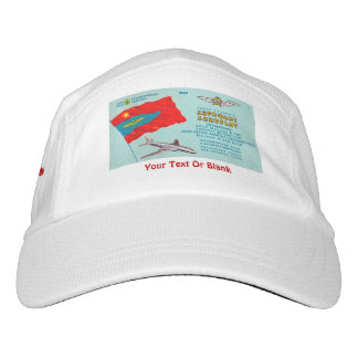 Aeroflot Passenger Ticket Headsweats Hat