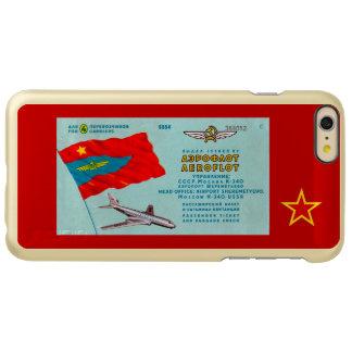 Aeroflot Passenger Ticket Incipio Feather Shine iPhone 6 Plus Case