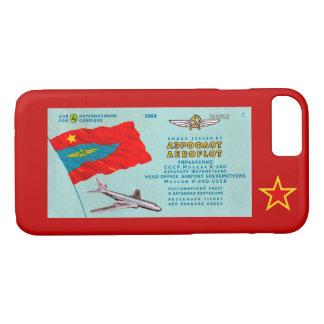 Aeroflot Passenger Ticket iPhone 8/7 Case