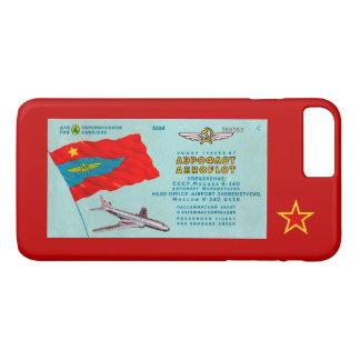 Aeroflot Passenger Ticket iPhone 8 Plus/7 Plus Case