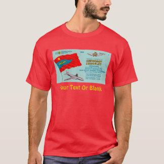 Aeroflot Passenger Ticket T-Shirt
